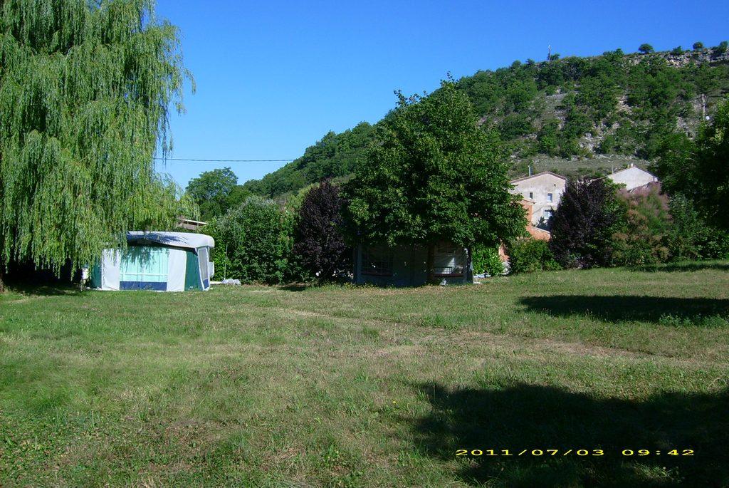Vue d'ensemble du camping